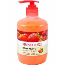 Крем-мило  FJ Strawberry & Guava 460мл