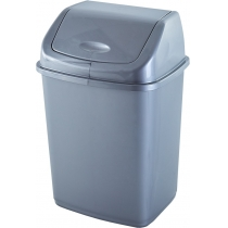 Ведро Алеана для мусора 18л., серое