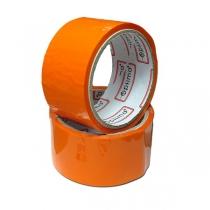 Лента клейкая упаковочная (скотч) Optima, оранжевая, 48мм*30м