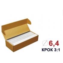 Пружини для біндера металеві (3/1) 6,4 мм 100 штук білі