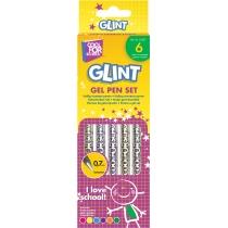 Набор гелевых ручек Glint, 6 шт