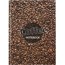 """Канцелярська книга """"Малюнки природи. Coffee"""" А4, клітинка, 96 арк."""