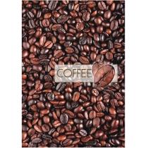 """Канцелярська книга """"Малюнки природи. Coffee"""" А4, лінійка, 96 арк."""