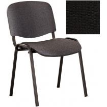 Стілець ISO BLACK С-11, тканина, чорний, Україна