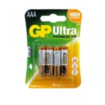 Батарейка GP Ultra Alkaline AAA  4 штуки в упаковці