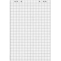 Блокнот для флипчарта, 20 листов; 64х90см; в клеточку