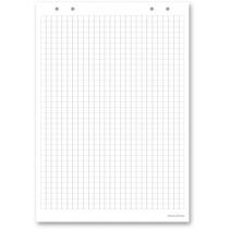 Блокнот для флипчарта, 30 листов., 58х83см; в клеточку