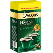 "Кофе молотый Jacobs ""Monarch"", 450г."