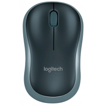 Миша бездротова LOGITECH Wireless Mouse M185 SWIFT GREY, EER2