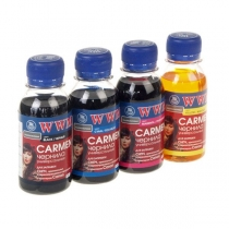 Комплект чорнил для Canon, Carmen.Set-2, B/C/M/Y, 4х100 г