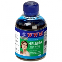 Чернила для HP, Helena HU/C, cyan, 200 г.