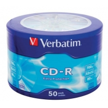 Диск CD-R Verbatim 700 Mb, 10шт, 52x ( TD1132 )