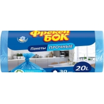 Пакети для сміття 20л / 30шт Фрекен Бок