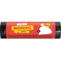 Пакети для сміття 60л / 15шт БОНУС
