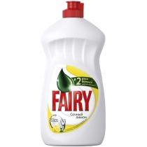 Средство для мытья посуды лимон жидкость Fairy 500 мл
