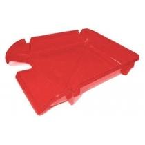 Лоток горизонтальний Arnika Компакт, яскраво-червоний, 365х250х60