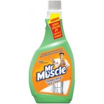 Средство для стекла с нашатырным спиртом с распылителем сменное Мистер Мускул 0,5 л