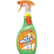 Средство для стекла с нашатырным спиртом с распылителем Мистер Мускул 0,5 л