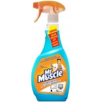 Средство для стекла со спиртом с распылителем Мистер Мускул 0,5 л