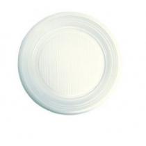 Тарілки одноразові десертні білі діаметр 16,5 см 100 шт