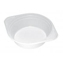 Тарелки одноразовые белые 500 мл 100 шт