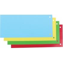 Роздільник аркушів 240*105 мм Economix, картон, кольоровий, 100 шт.