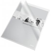 Папка-уголок Esselte Standard A4 PP 115мкм  10шт. Прозрачная