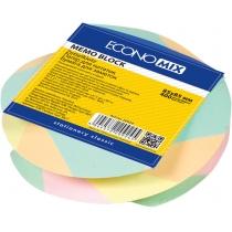 """Бумага для заметок Economix, в спираое, 85х85, 400 л.  """"зебра"""""""