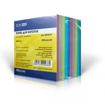 Бумага для заметок Economix, цветная, 90х90, 1000 л.