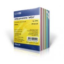 Бумага для заметок Economix, цветной, 85х85, 400 л. ( E20942 )