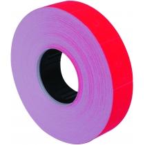 Етикетки-цінники Economix 23х16 мм червоні (700 шт. / рул.), E21302-03