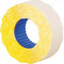 Этикетки-ценники Economix 22х12 мм желтые (1000 шт./рул.), E22301-05