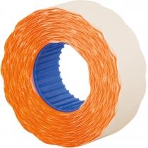 Етикетки-цінники Economix 22х12 мм помаранчеві (1000 шт. / рул.), E22301-06
