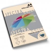 Бумага цветная SINAR SPECTRA, А4, 80 г/м2, 100 л, пастель, слоновая кость