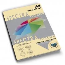 Папір кольоровий SINAR SPECTRA, А4, 80 г/м2, 100 арк., пастель, кремова