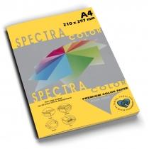 Бумага цветная SINAR SPECTRA, А4, 80 г/м2, 100 л, интенсив, золото