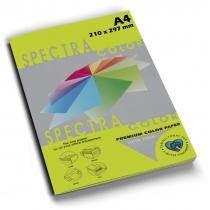 Бумага цветная SINAR SPECTRA А4 80 г/м2,100 л, неон, зеленая