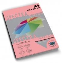 Бумага цветная SINAR SPECTRA, А4, 80 г/м2, 100 л, неон ,розовая