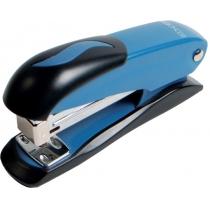 Степлер №24/6, 26/6 Economix, до 20 л., металл. корпус, синий