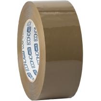 Лента клейкая упаковочная (скотч) Economix, коричневая, 48мм*200м