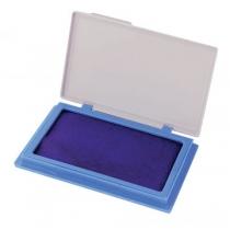 Подушка штемпельна настільна Есonomix, 70х110 мм, синя