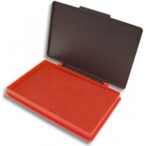 Подушка штемпельна настільна Kores 70х110 мм, червона