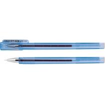 Ручка гелевая Economix PIRAMID синяя
