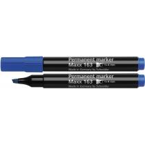 Маркер перманентный (спиртовой) SCHNEIDER MAXX 163 1-4 мм, синий