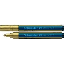 Маркер для декоративных и промышленных работ Schneider MAXX 270 золотой