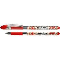 Ручка масляна Schneider SLIDER F червона