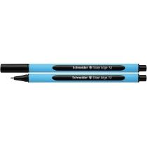 Ручка масляная Schneider SLIDER EDGE M черная