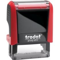 Оснастка для штампа TRODAT 4911 Р4, красная
