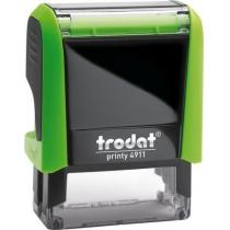 Оснастка для штампа TRODAT 4911 Р4, зеленая