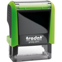 Оснастка для штампу TRODAT 4911 Р4, зелена
